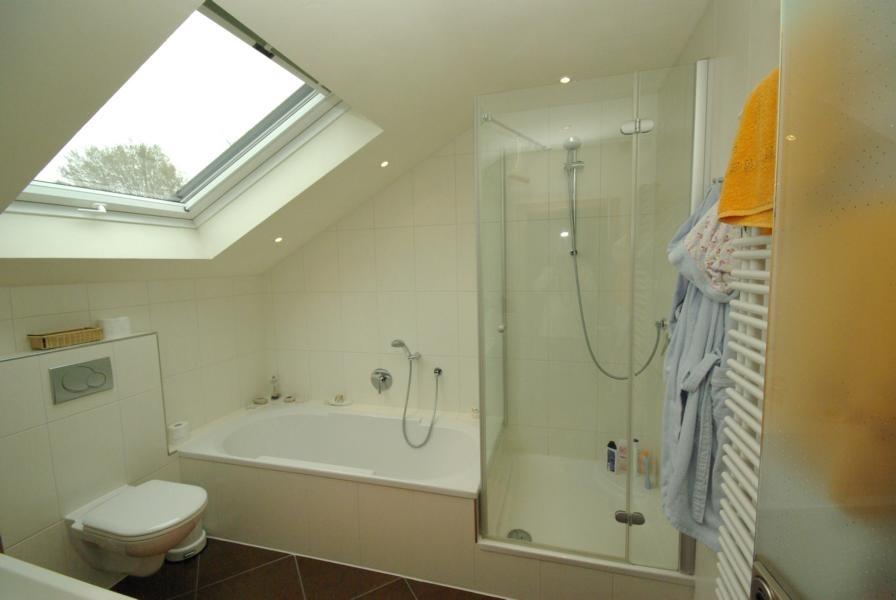 Optimale Ausnutzung des Dachgeschoss - Bades