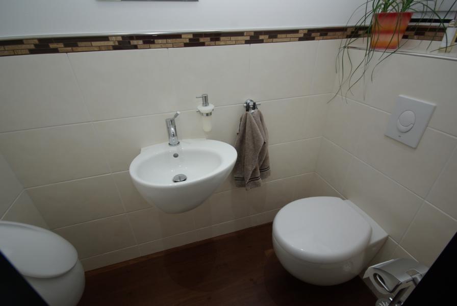 Gäste-WC oval