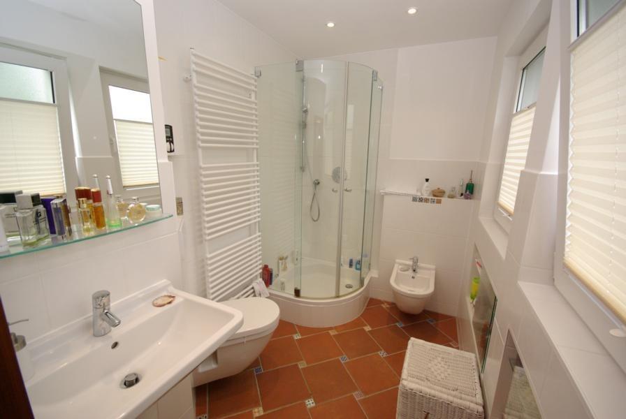 WC und Bidet getrennt