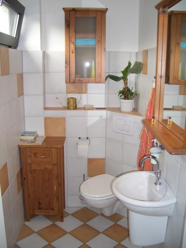Gäste-WC Rustikal